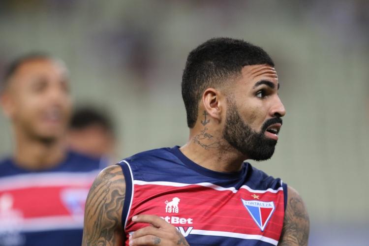 Antes contestado, Romarinho é hoje um dos atletas mais regulares do elenco do Fortaleza (Foto: Fabio Lima)