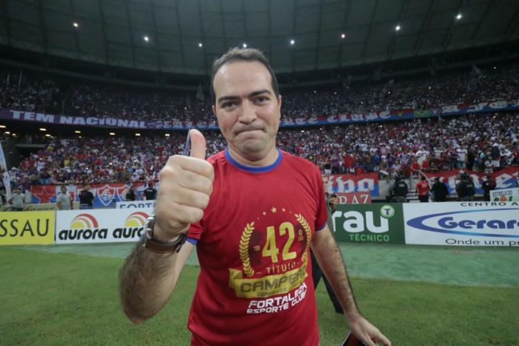 Marcelo Paz assumiu o clube em 2017, após o acesso à Série B  (Foto: Júlio Caesar)