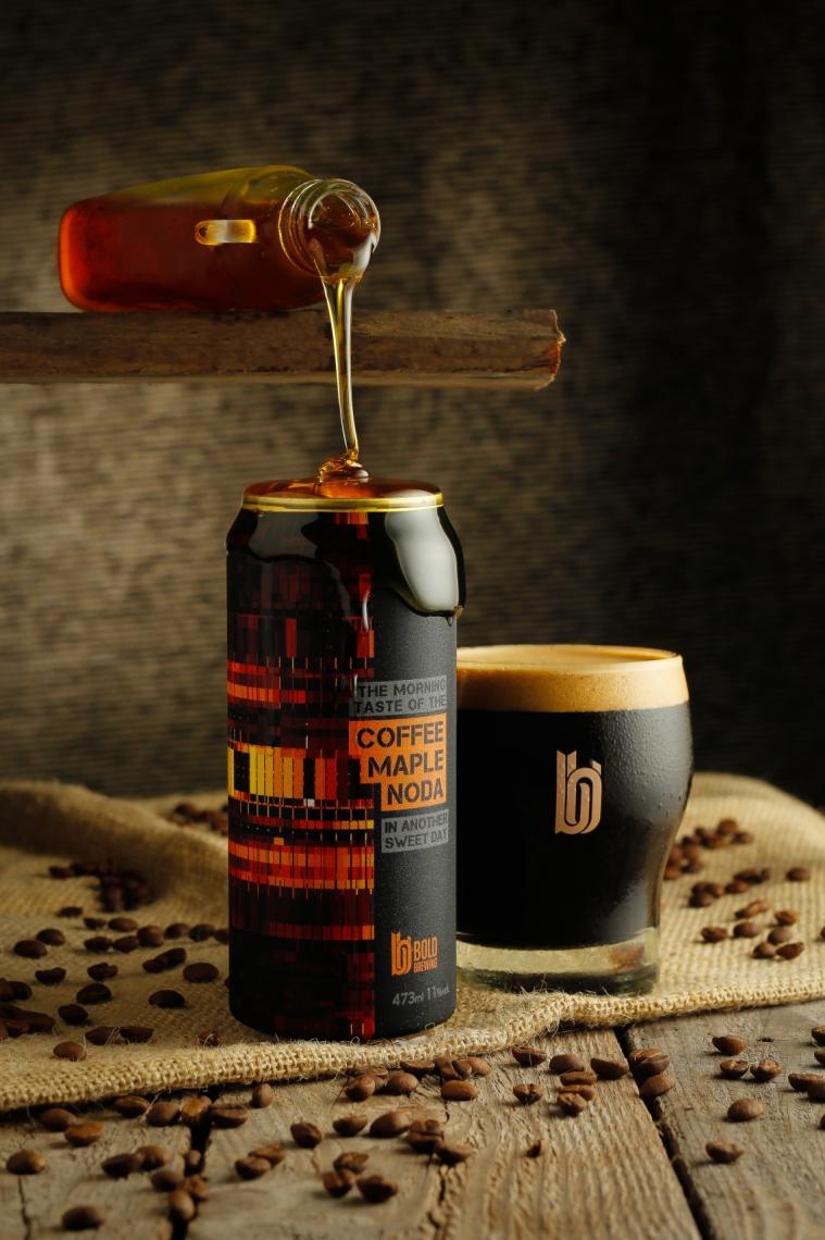 Evento oferece mais de 30 rótulos de cervejaria. No clique, a Coffee Maple Noda, com café e xarope de maple