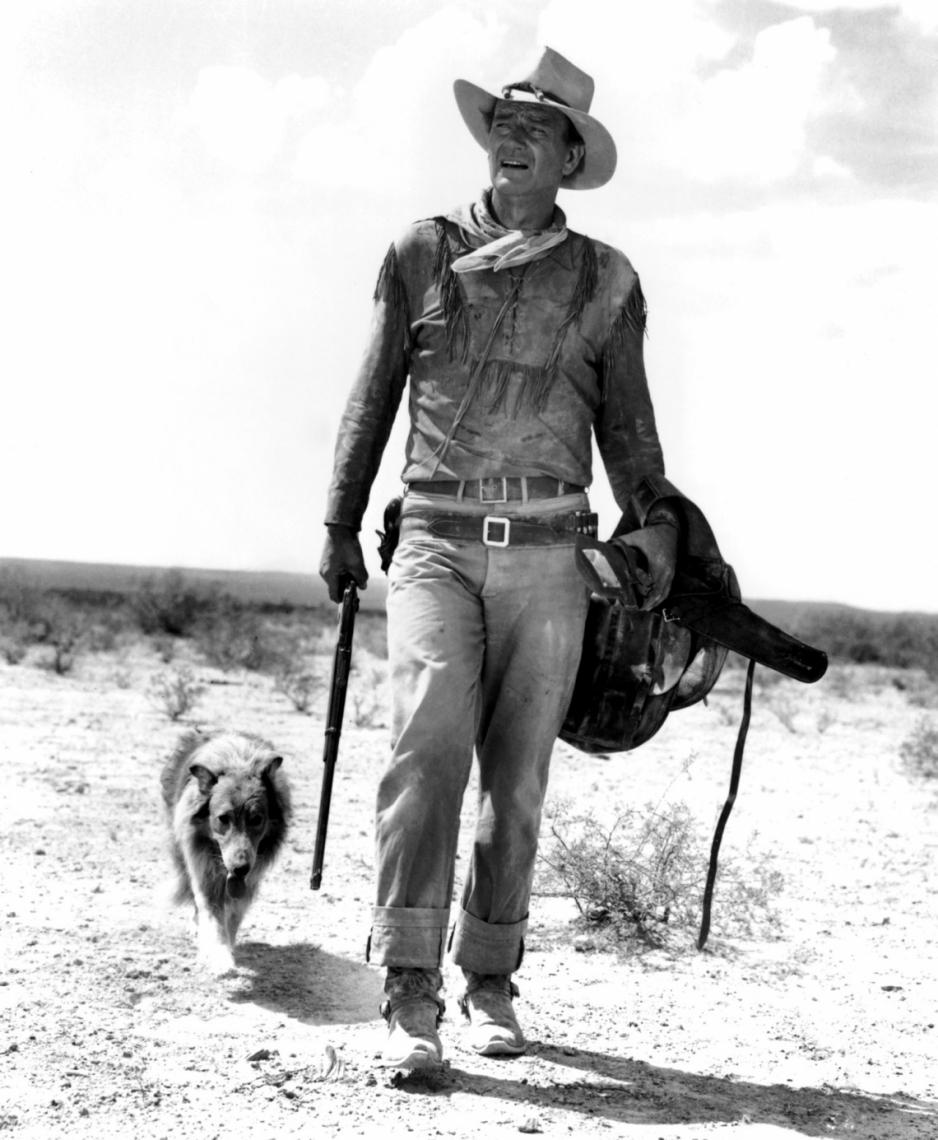 John Wayne protagonizou os mais importantes filmes de faroeste da década de 1950