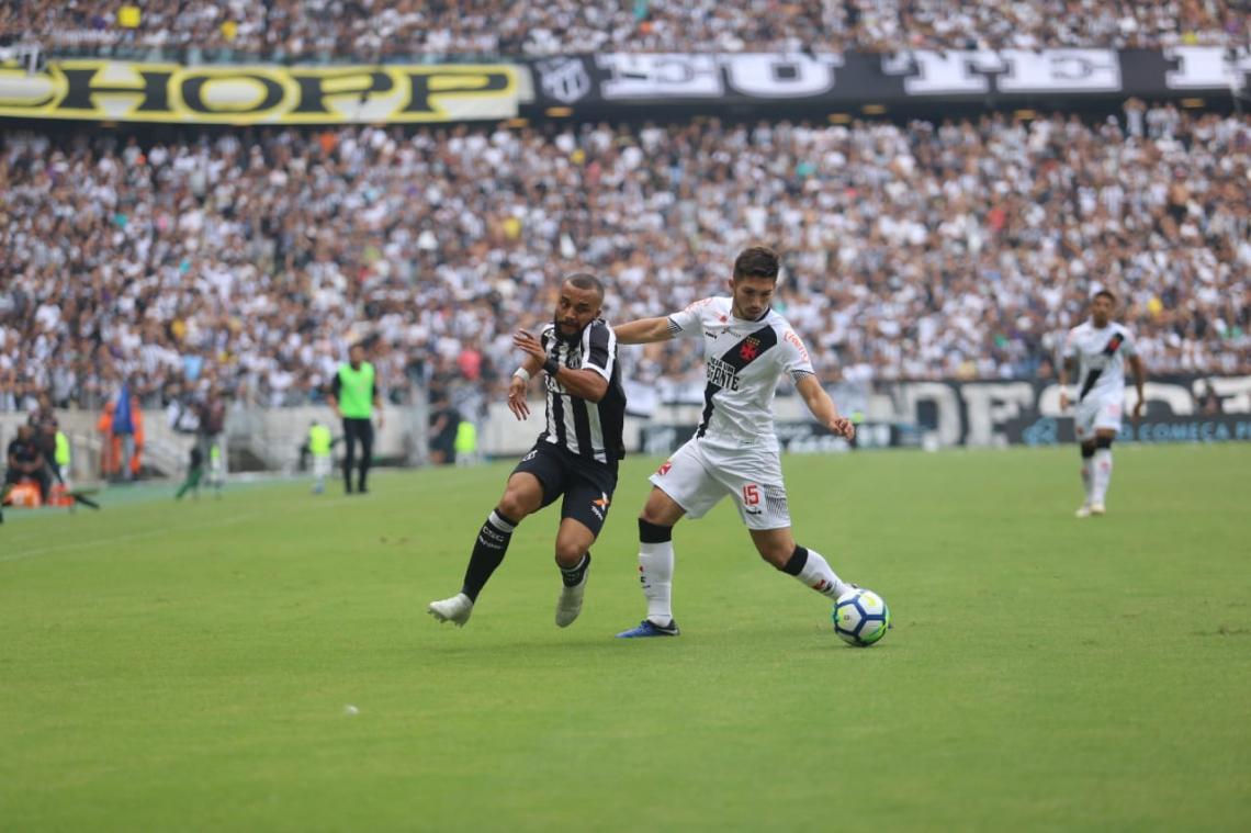 Vasco e Ceará se enfrentam em São Januário, hoje, quinta, 13 de junho (13/06). Acompanhe transmissão ao vivo