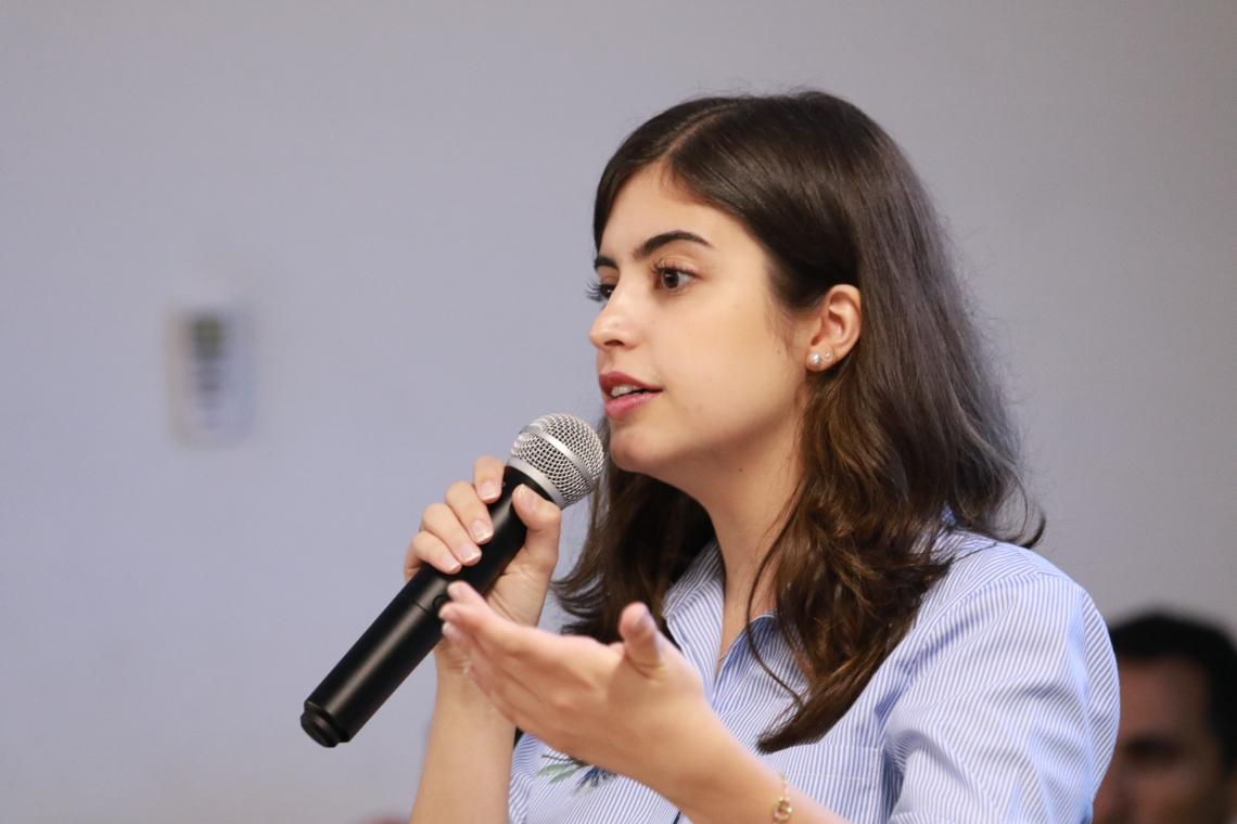 A DEPUTADA esteve na última semana em Fortaleza e Sobral participando de eventos sobre educação