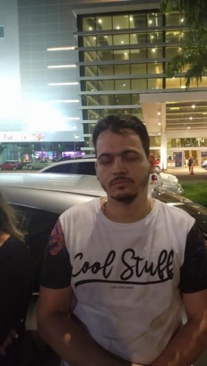 Romarinho foi preso no shopping RioMar, em Fortaleza