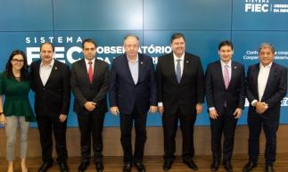 Veridiana Soares, Paulo André Holanda, Salmito Filho, Ricardo Cavalcante, Romeu Aldigueri, Marcos Sobreira e Sampaio Filho