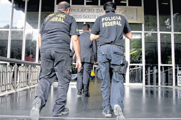 Policiais federais cumpriram mandado no próprio Tribunal de Justiça do Ceará