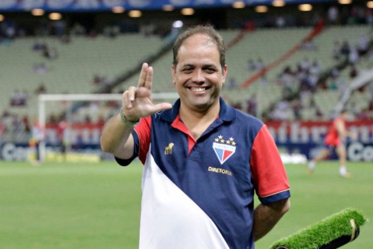 Diretor de Futebol do Fortaleza, Daniel de Paula Pessoa analisou a Série A que o Leão faz até aqui (Foto: Fortaleza/Divulgação/Twitter )