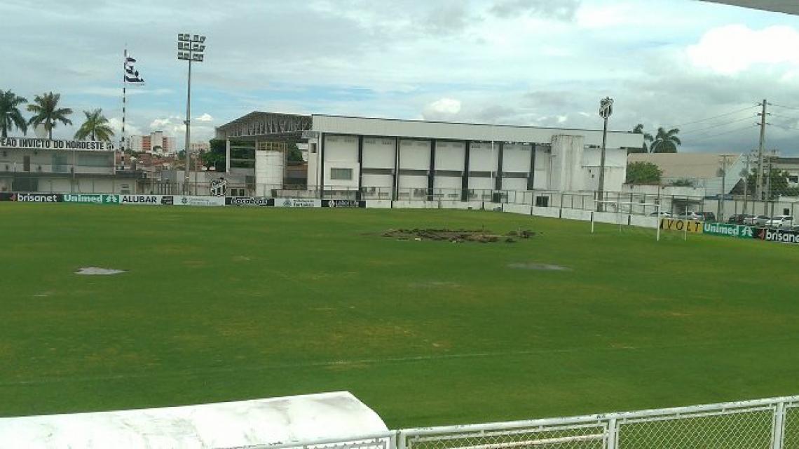 Campo principal e de anexo recebem melhorias na pausa da Copa América