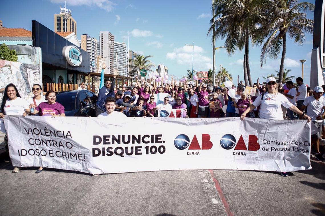 O presidente da OAB Ceará, Erinaldo Dantas, e alguns membros das mais de 70 comissões temáticas da Seccional também participaram