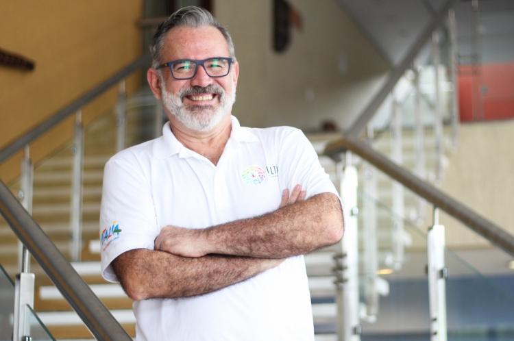 Clóvis Casemiro, coordenador do IGLTA no Brasil