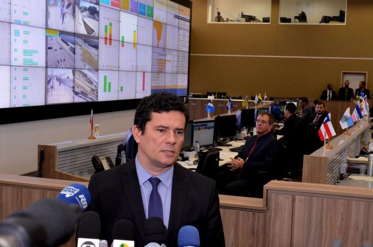 MORO participou ontem de evento de apresentação do esquema de segurança para a Copa América