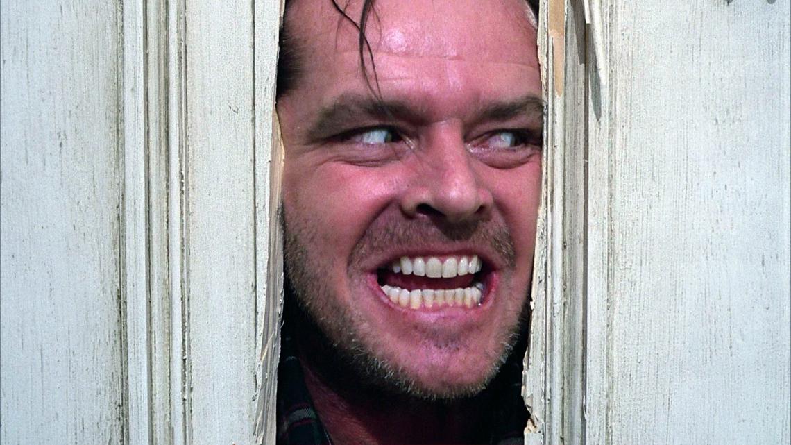 O Iluminado, de Stanley Kubrick. Filme foi um marco para o gênero do terror no cinema