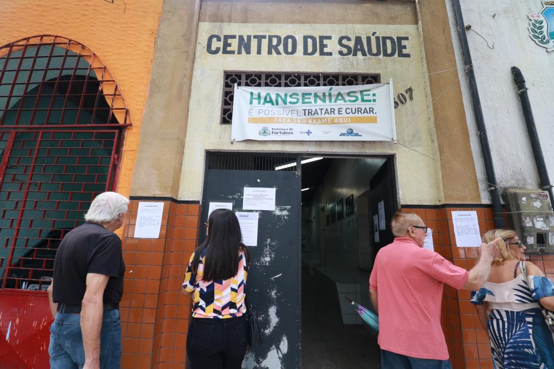 FORTALEZA,CE,BRASIL,17.06.2019: Posto de Saúde Paulo Marcelo, na Rua 25 de Março, no Centro de Fortaleza, está fechado para reforma que deve durar cerca de 90 dias. (fotos: Tatiana Fortes/ O POVO)