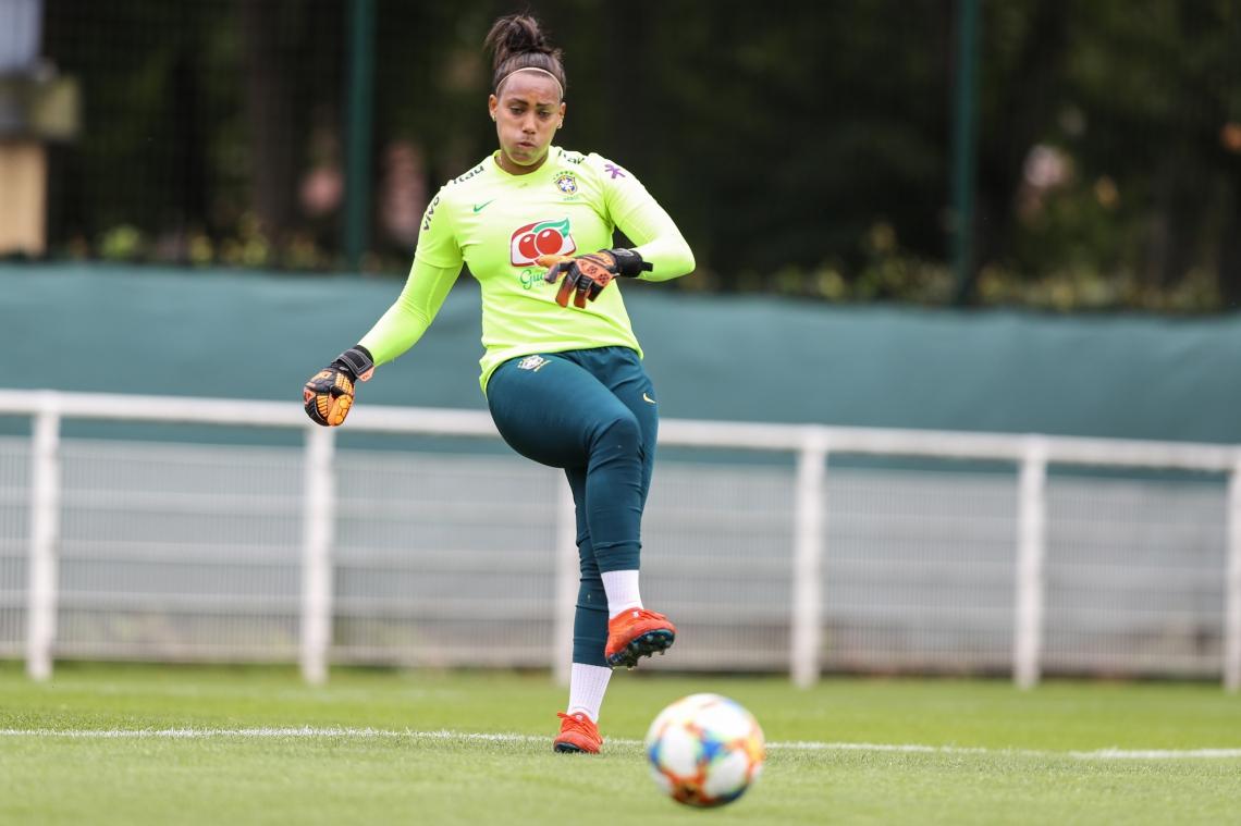 Caso o gol defendido por Bárbara não seja vazado, o Brasil garante vaga nas oitavas