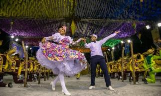 Quadrilha Junina Tradição no Festival de Quadrilhas 2019.