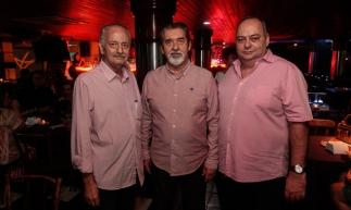 Lincoln Machado, Américo Picanço e Jéser de Oliveira Neto