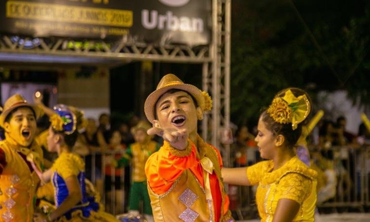 Quadrilha Cumpadi Chico no Festival de Quadrilhas 2019.