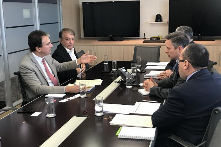 Reunião com representantes do CAP ocorreu na manhã desta terça-feira, 18, em Brasília.
