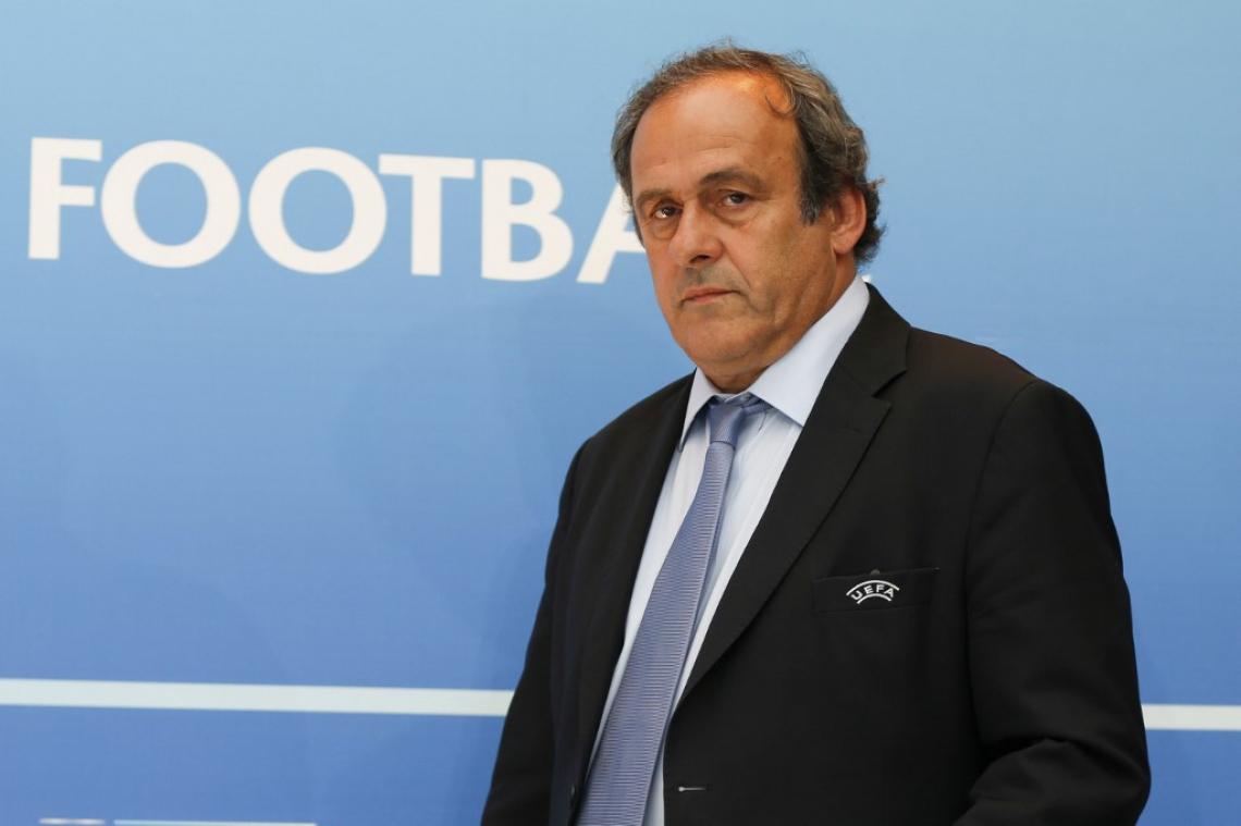 Michel Platini foi chefe da Uefa