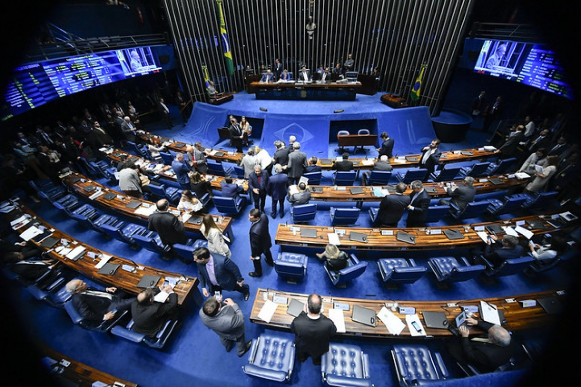 Plenário do Senado.