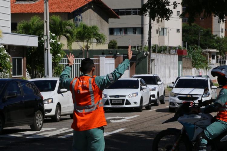 Binário no bairro Papicu: mudança na rua Pereira de Miranda