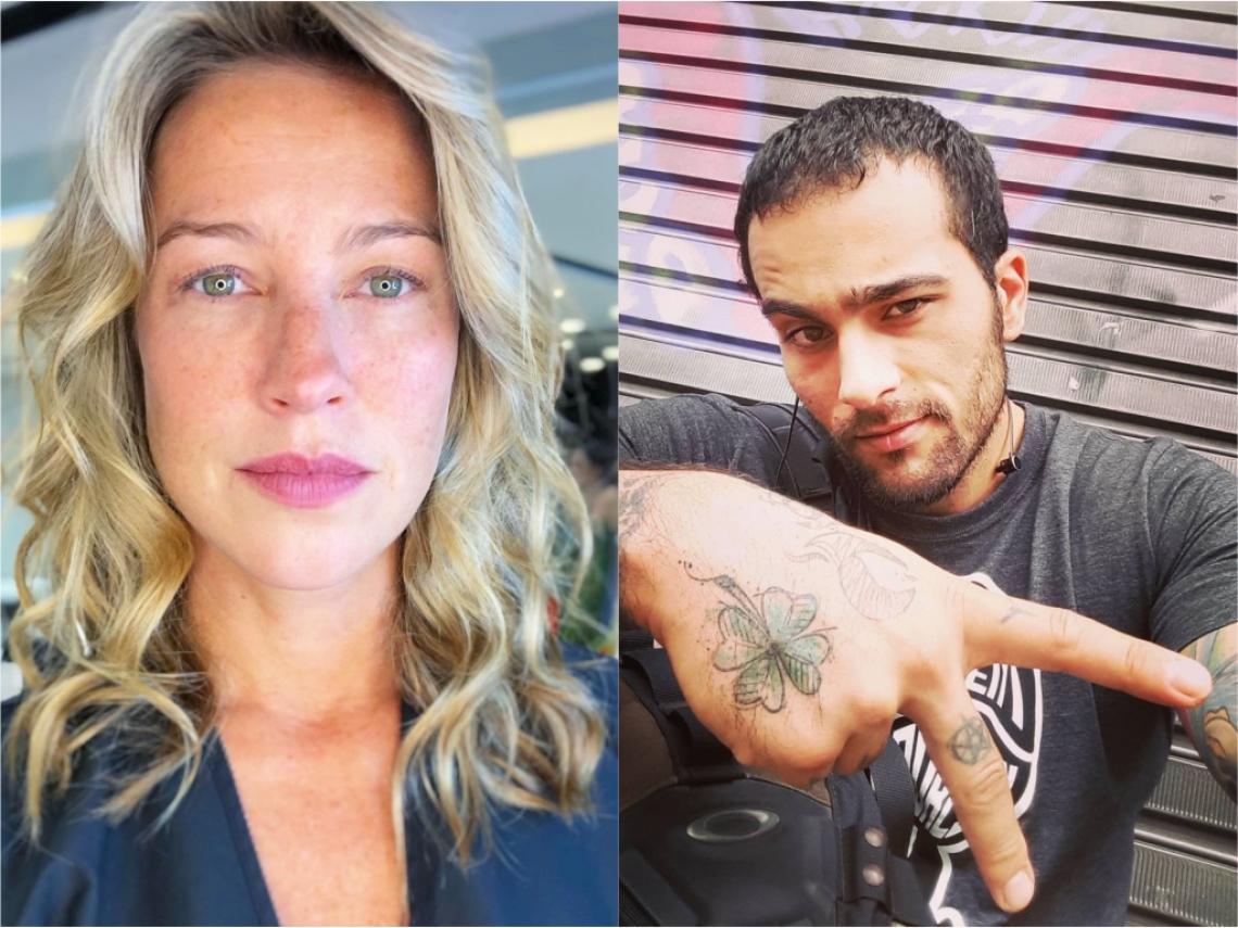 Luana Piovani pode estar usando Igor Marchesi para despistar romance com bartender.