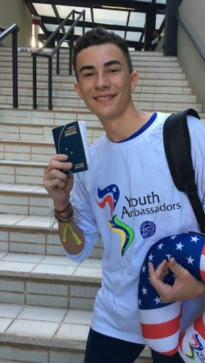 Rogério Bié, de 18 anos, cursa Jornalismo na Universidade Federal do Ceará.