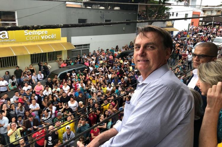 Bolsonaro visitou Eldorado, nesta quinta, 20 de junho