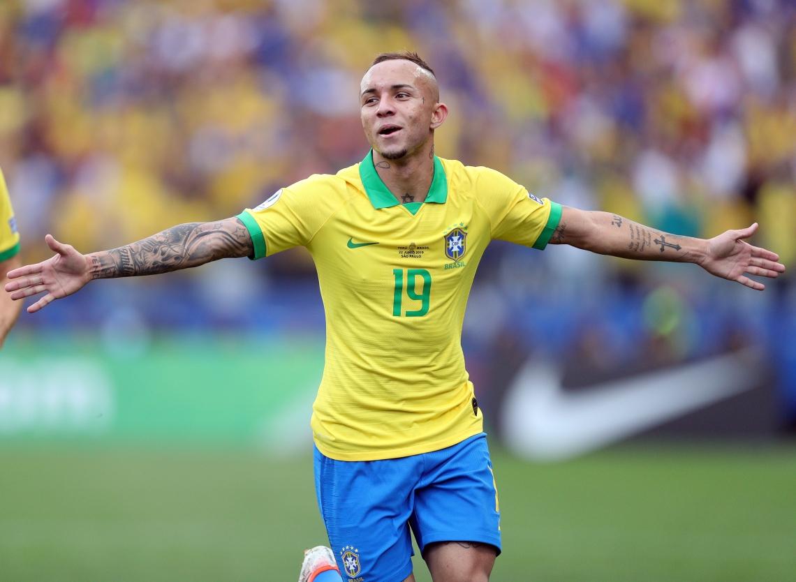 Éverton foi o jogador-sensação do Brasil na Copa América de 2019