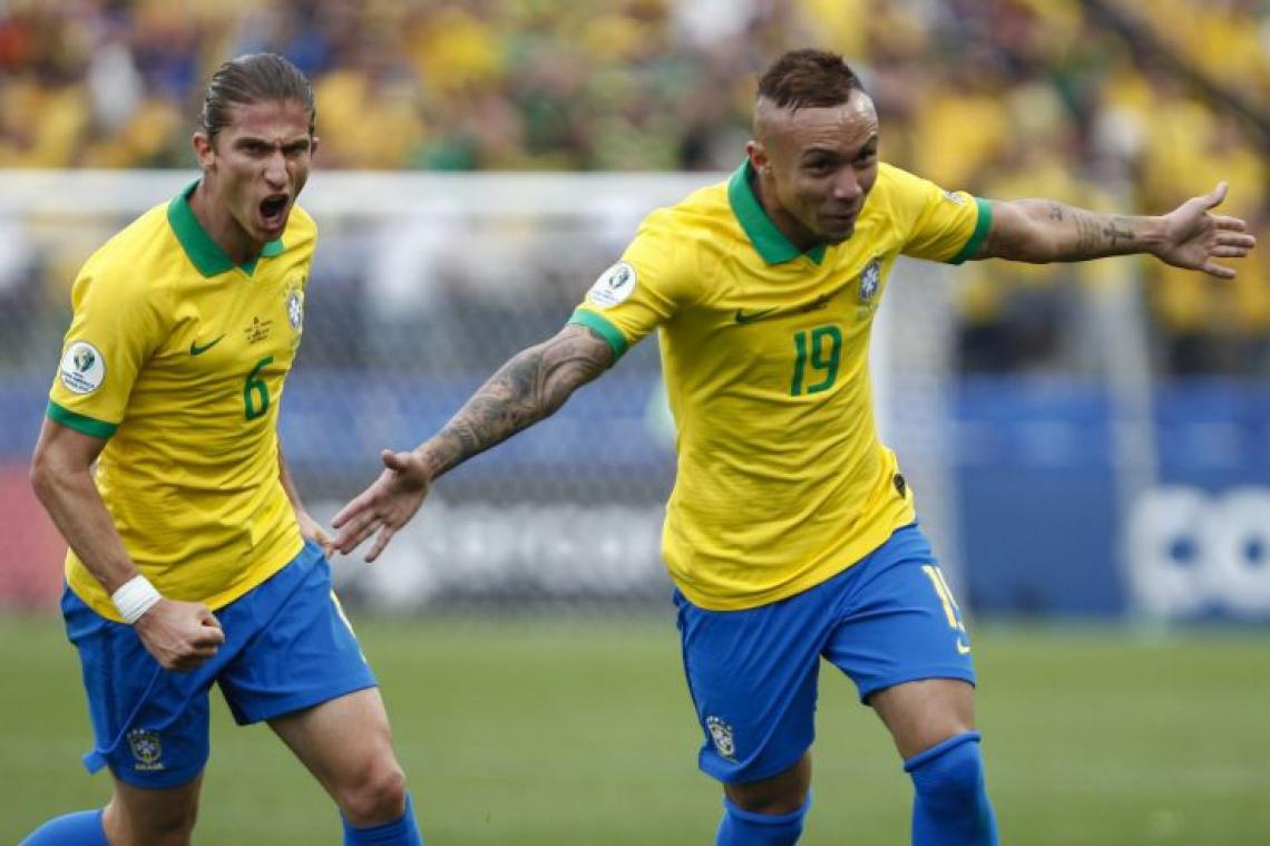 O atacante Éverton Cebolinha foi um dos principais destaques da seleção brasileira na Copa América