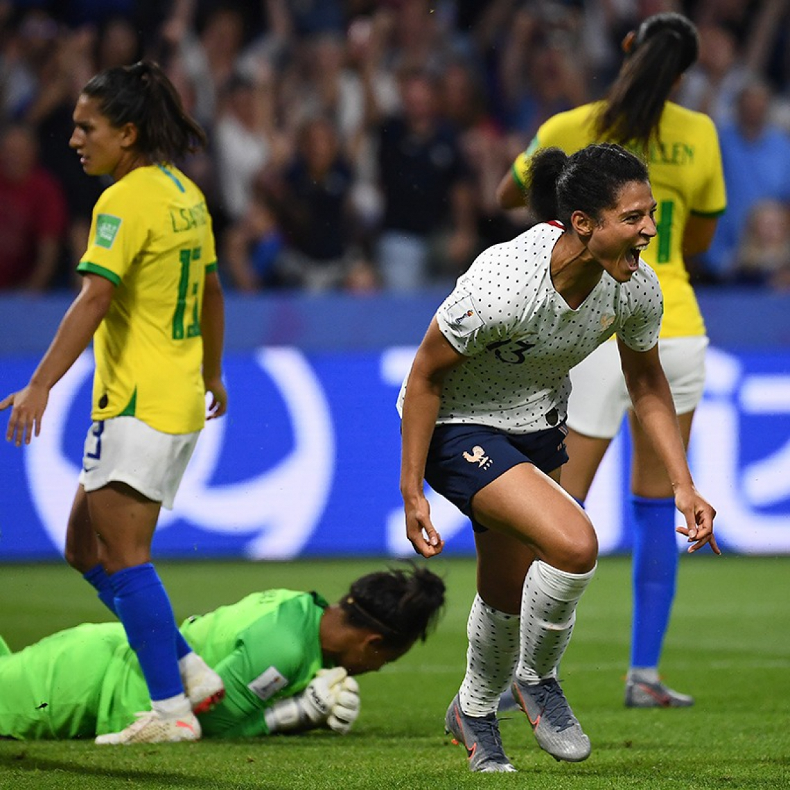 Nas quartas de final, a França enfrentará o vencedor do duelo entre EUA e Espanha