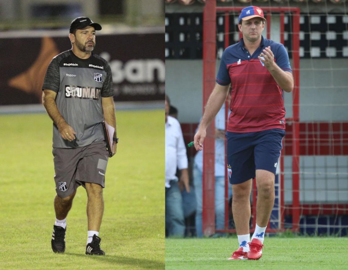 Enderson Moreira e Rogério Ceni se enfrentam pela primeira vez em um Clássico-Rei