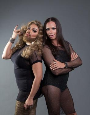 Silvero Pereira e Mulher Barbada