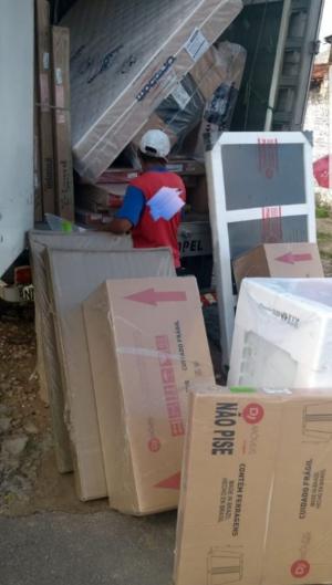 Mercadoria ia em caminhão de entrega e era desviada para a casa de algum dos participantes do grupo criminoso