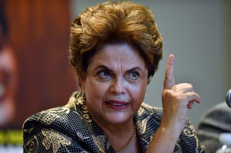 DILMA retrucou ataques do pedetista(Foto: Yuri Cortez / AFP)