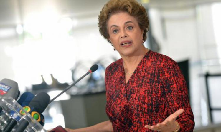 Dilma Rousseff em 2016