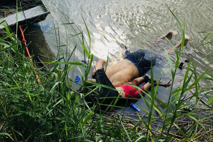 Imagem dos corpos boiando no rio comoveram o mundo inteiro