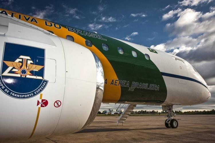 Aeronave militar VC-2 Embraer 190