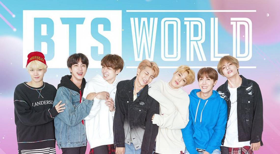 Grupo de K-Pop BTS lançou, na manhã desta quarta-feira, 26, o jogo interativo BTS World.