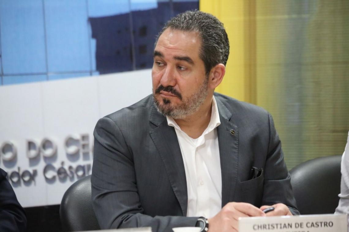 Presidente da Ancine, Christian de Castro, participou de audiência pública na ALCE