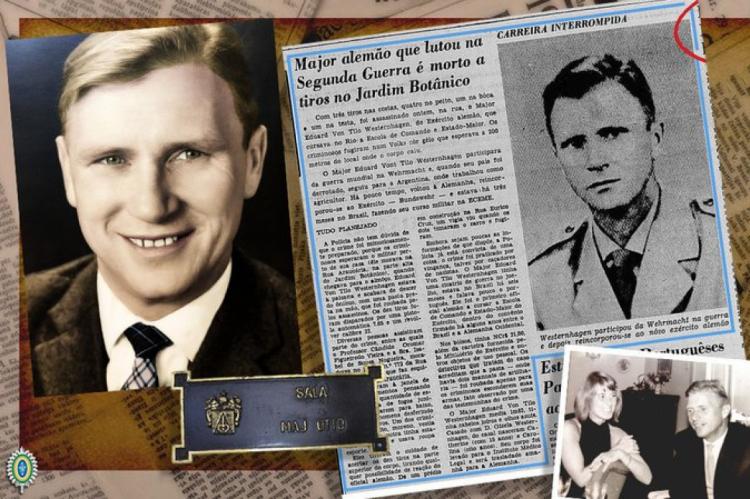 O major fez parte do exército nazista