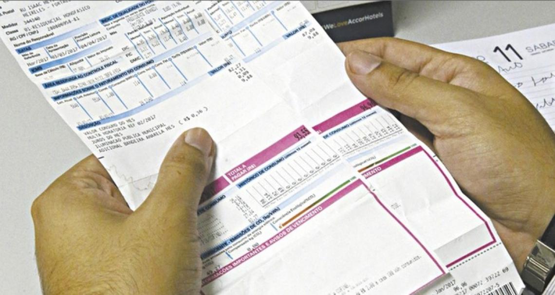 Houve casos de consumidores que tiveram duas tarifa de energia com vencimento para o mesmo dia.