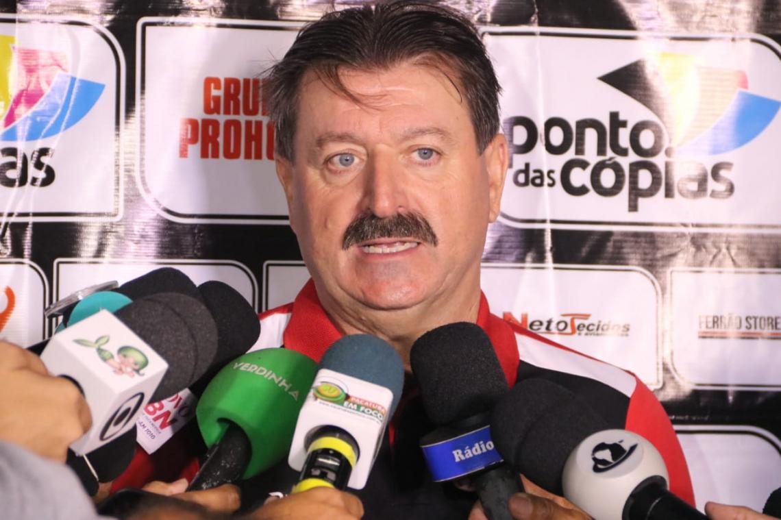 Leandro Campos cobrou mais concentração de seus comandados.