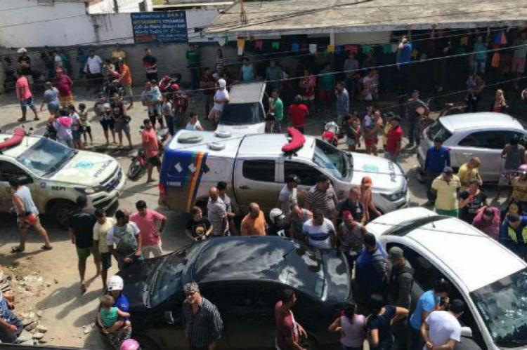 Segundo a PM, seis homens e duas mulheres foram mortos na operação