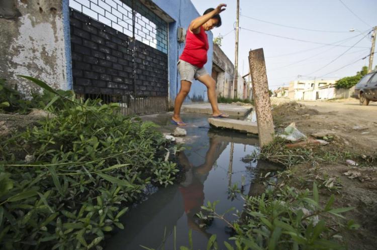 Falta de saneamento básico está entre os itens pesquisados