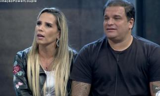 Taty Zatto e Marcelo Braga são eliminados do Power Couple Brasil.