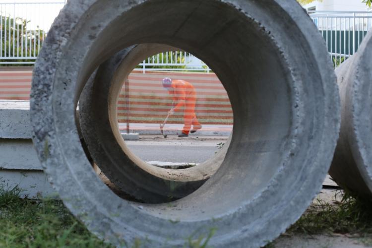 APLICAÇÕES DO BNB em infraestrutura devem aumentar a partir do marco regulatório do saneamento (Foto: Fábio lima)