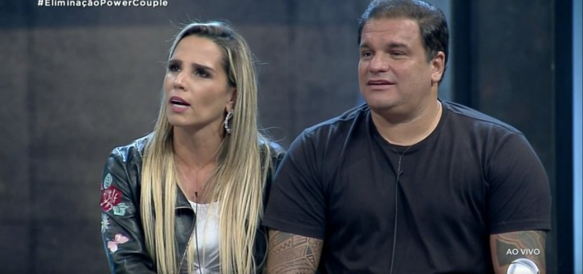 Taty Zatto e Marcelo Braga são eliminados do Power Couple Brasil.