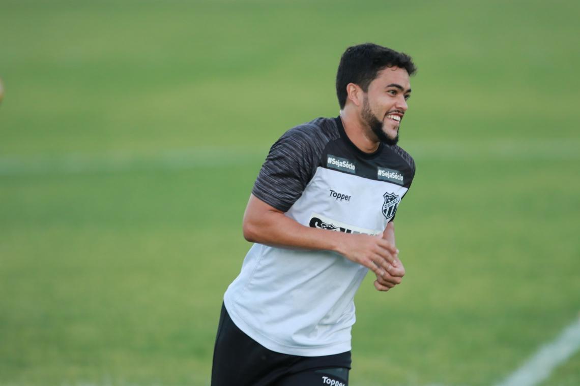 Felipe Baxola fez 20 jogos pelo Ceará em 2019 e marcou quatro gols.