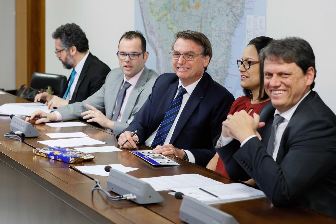 O presidente Jair Bolsonaro realizou live nessa quinta-feira, 4