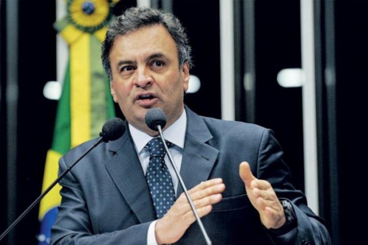 Aécio Neves já foi presidente do PSDB e principal nome do partido